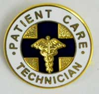 Patient Care Tech pin