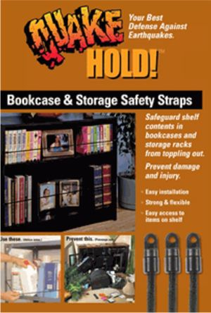 Bookcase and Storage Safety Straps