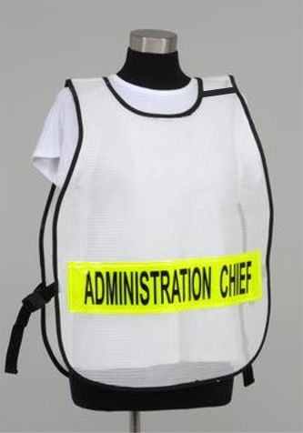 Model PON3 Poncho-Style Incident Command Titled Vest