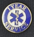 1 Year EMS Service Pin