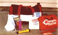 SafetyStore Family Preparedness Kit 72 hour kit