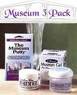 Pack of all 3 Museum Products - Putty Wax and Gel