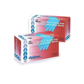 Nitrile Exam Gloves - Powder Free 100-box