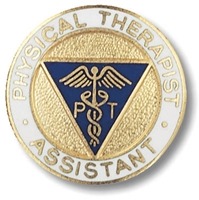 Physical Therapy  Assistant Emblem Pin