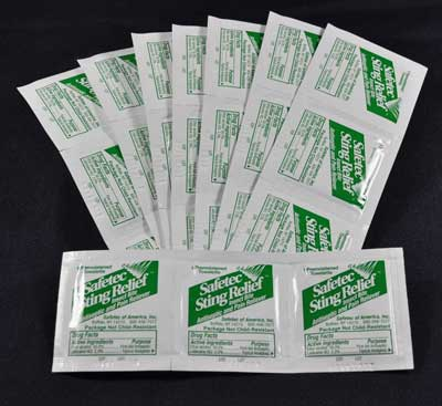Sting Relief Wipes - 50-count