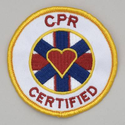 Embroidered Patch - CPR Certified