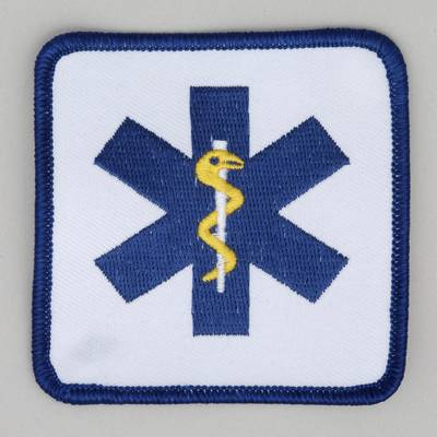 Star of Life - 3 inch Square